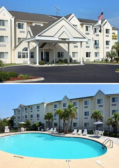 Microtel Carolina Beach hotel